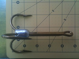 14/0 snatch hook used for gator hunting